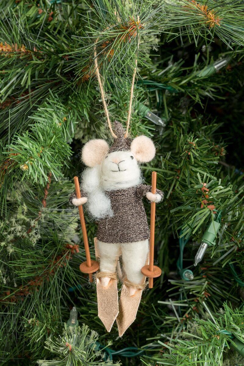 """Alpine Albert"" ornament"