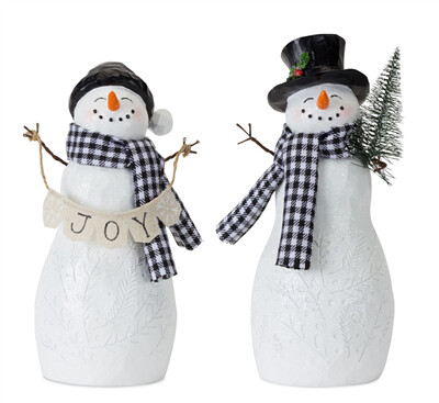 """""""Joy"""" snowman"""