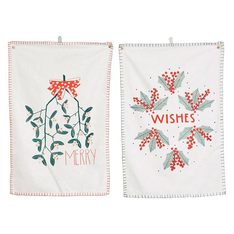 Wishes Tea Towel