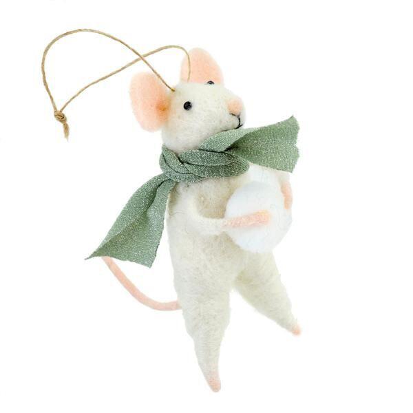 """""""Snowball Sal"""" ornament"""