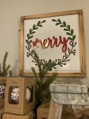 joy/merry frame