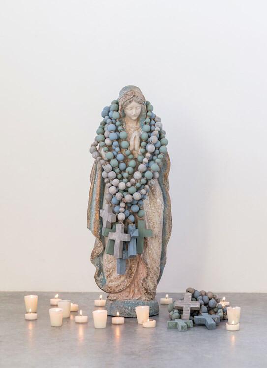 Blue Cross Rosary