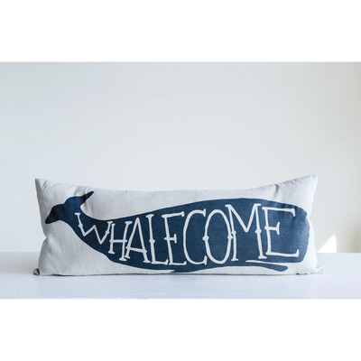 Whalecome Pillow