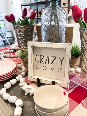 """crazy love"" 8x8 canvas"