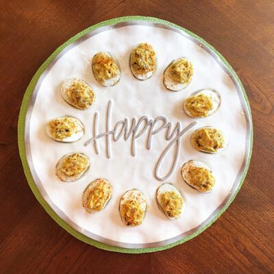 Happy Ruffle Egg Tray