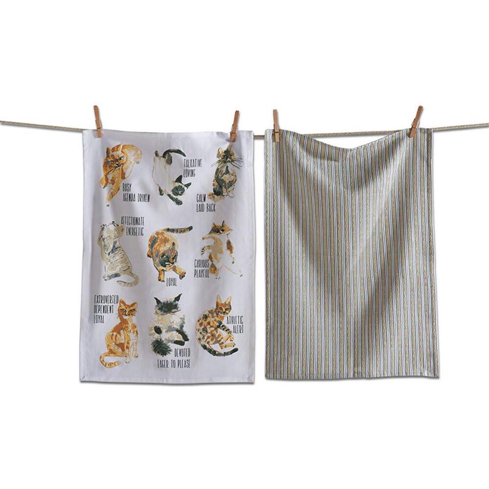 Cat Dish Towels