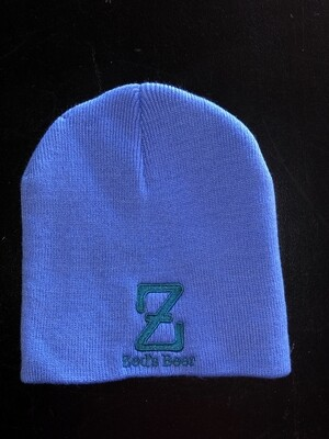 Winter cap--lite blue