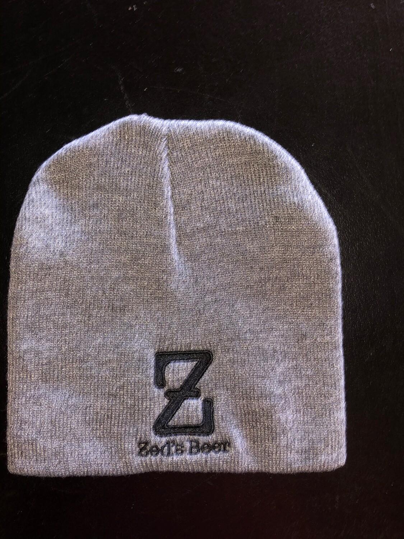 Winter cap--heather gray