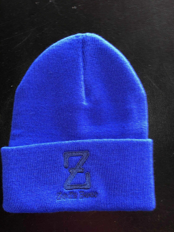 Winter Hat--royal blue