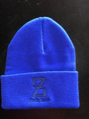 Winter Hat--royal blue