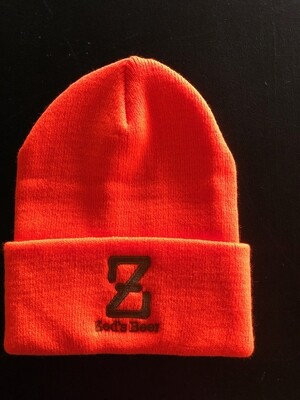 Winter Hat--orange