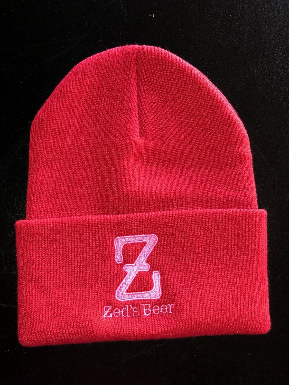 Winter Hat--red