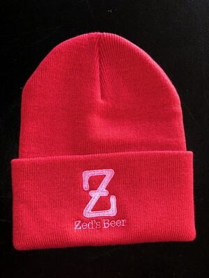 Winter Hat--red
