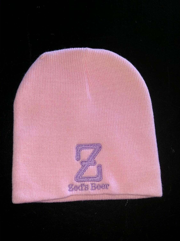Winter cap--pink