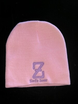 Winter cap--pink