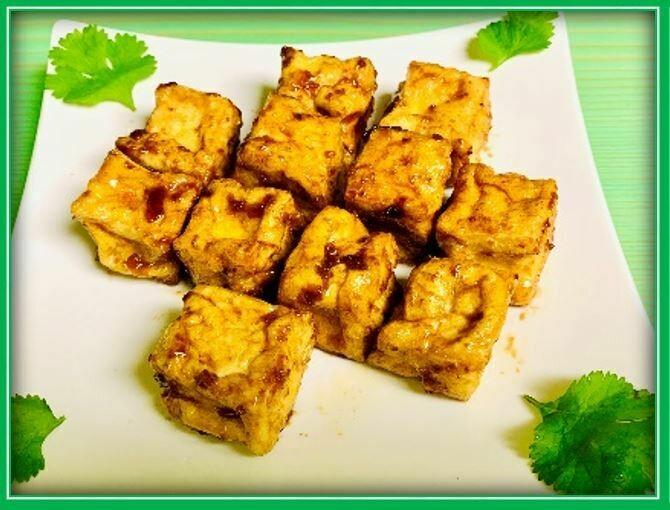 (A6) BBQ Tofu (Đậu Hũ Chiên)
