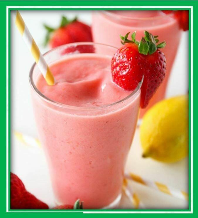 (B3) Strawberry Smoothie (Dâu)