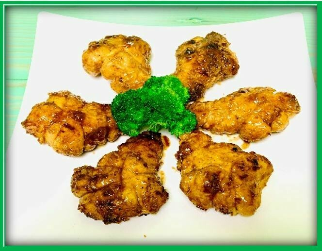 (E10) Lemon Grass Chicken (Gà Chiên)