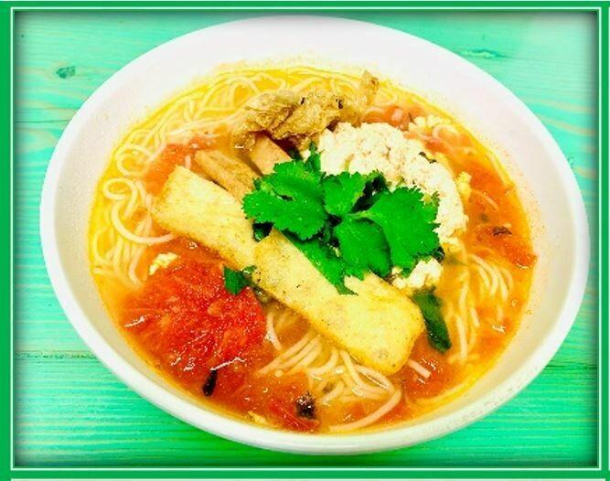 (E2) Crab Noodle (Bún Riêu)