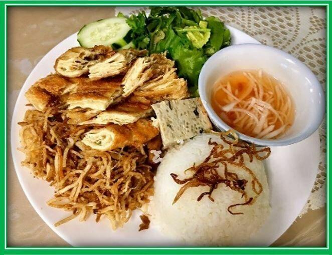 (S10) Rice Combo (Cơm Tấm Bì)