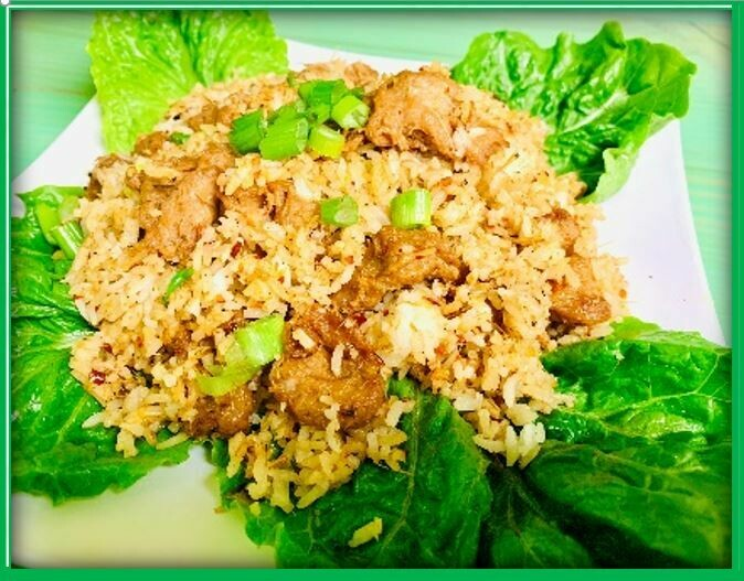 (E7) Mix Fried Rice (Cơm Chiên DC)