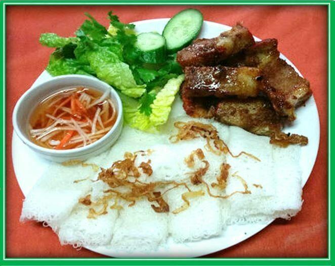 (S5) BBQ Pork Noodle (Bánh Hỏi Heo Quay)