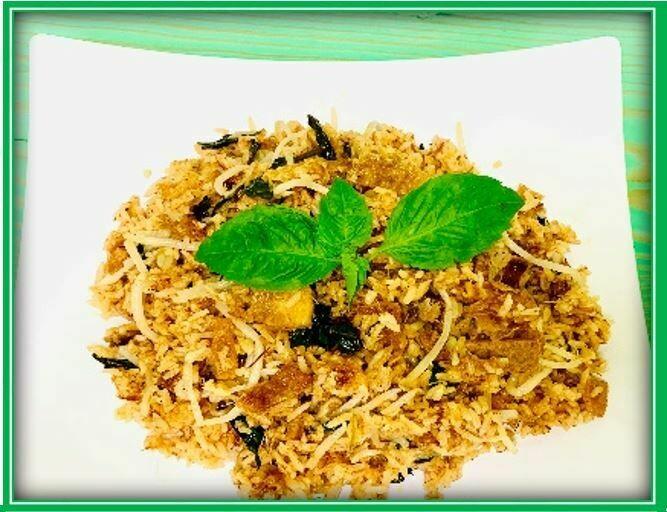 (S9) Thai Fried Rice (Cơm Chiên Thái)