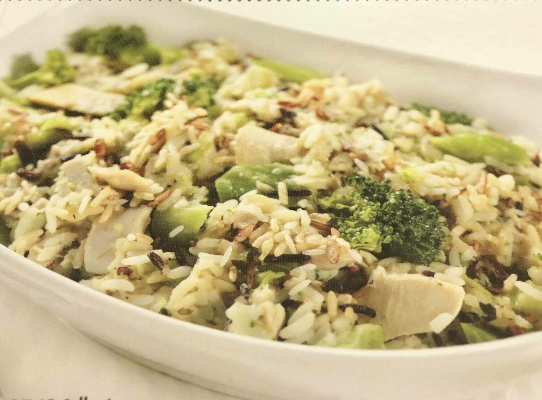 Ready to Bake Chicken Broccoli and Wild Rice Casserole 11 oz