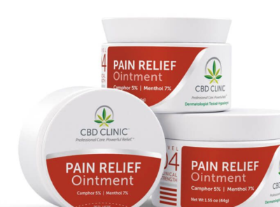 CBD CLINIC™ Level 4: Moderate-Severe Pain-44g