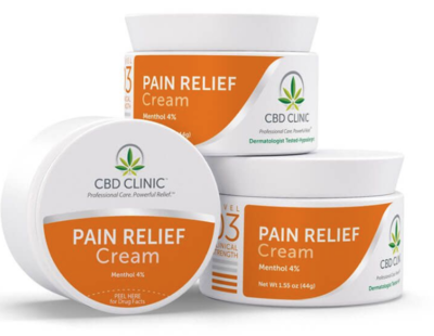 CBD CLINIC™ Level 3: For Moderate Pain 44g