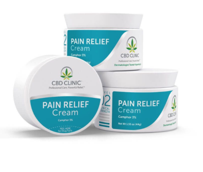 CBD CLINIC™ Level 2: For Mild-Moderate Pain 44g