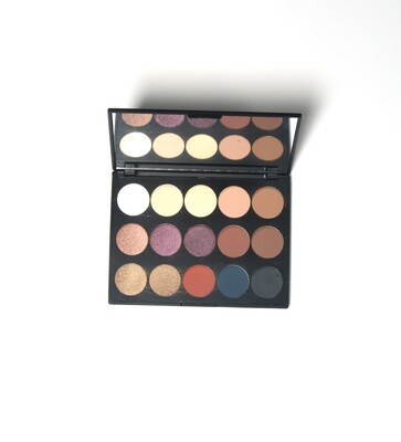 Pro Eye Shadow Palette 15 Shades (3 items)