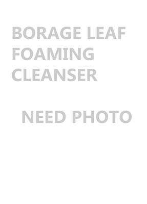 Borage Leaf Foaming Cleanser