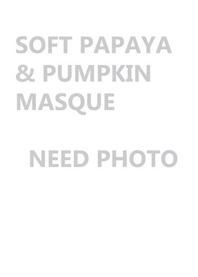 Soft Papaya & Pumpkin Masque