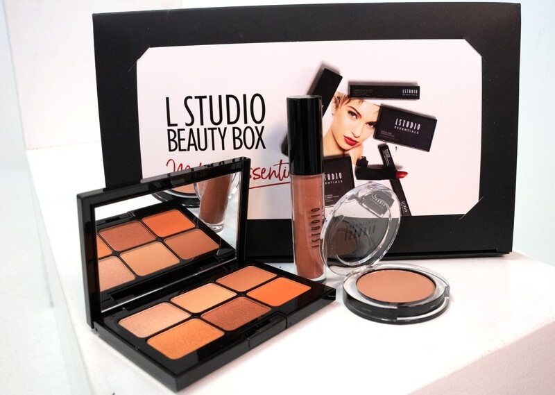 Beauty Box - Warm Ginger Eye Palette (with 3 items)