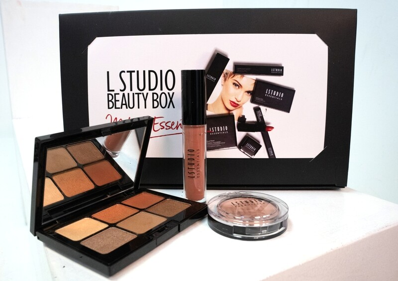 Beauty Box - Warm Neutral Eye Palette (with 3 items)