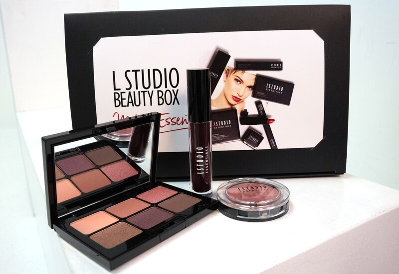 Beauty Box - Plum Eye Palette (with 3 items)