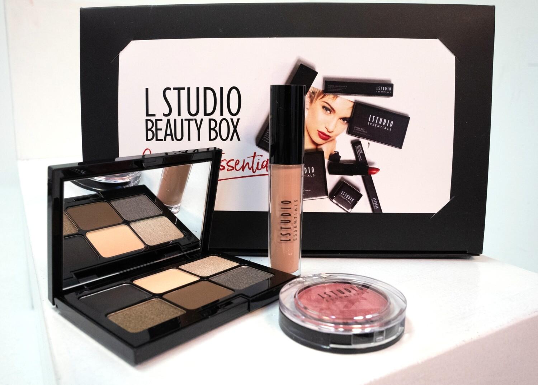 Beauty Box - Warm Smokey Eye Palette (with 3 items)
