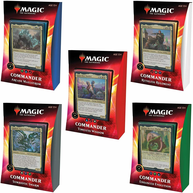 Magic the Gathering: Commander - Ikoria - Deck Set (Set of 5)
