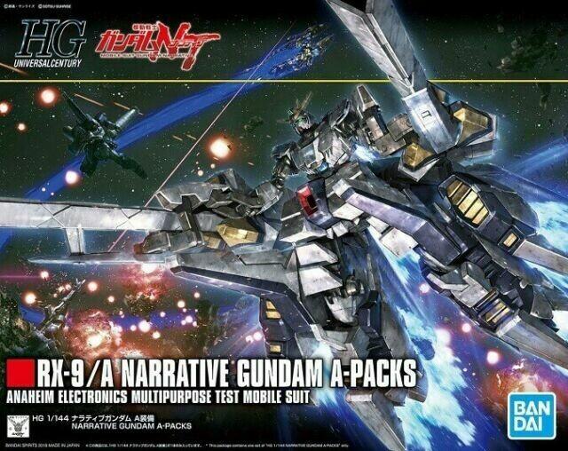 BAS5055365 Narrative Gundam A-Packs HGUC