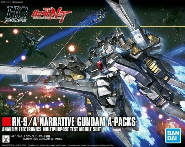 BAS5055365 Narrative Gundam A-Packs HGUC