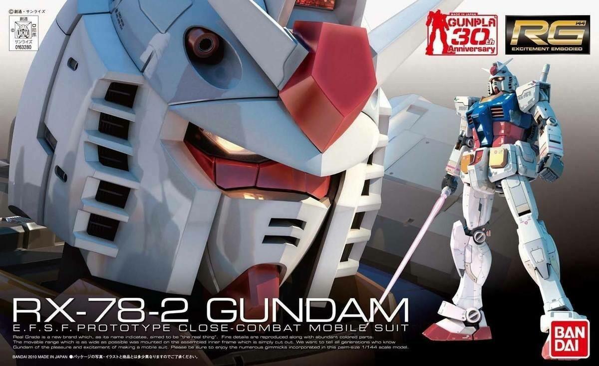 BAN163280 RX-78-2 Gundam RG