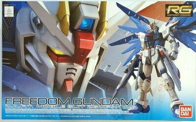 BAN171625 Freedom Gundam RG