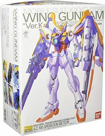 BAN123714 Wing Gundam (Ver. Ka), Gundam Wing Endless Waltz MG