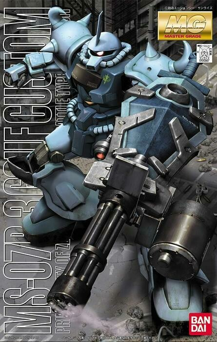 BAN100567 MS07B-3 GOUF CUSTOM GUNDAM 08TH MS TEAM