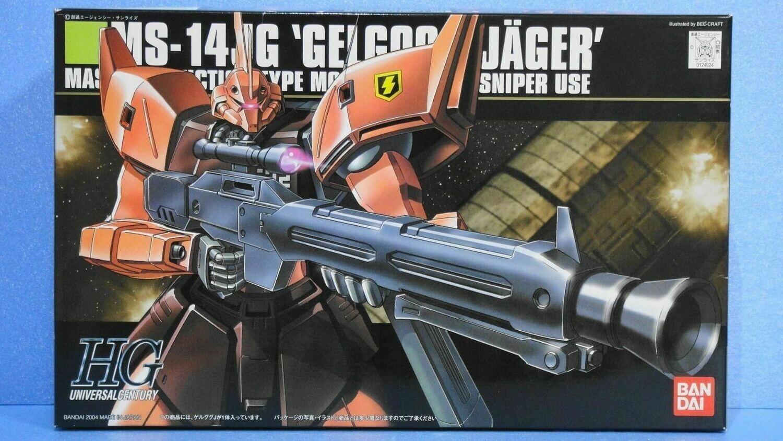 BAN124924 #45 MS-14JG GELGOOG JÄGER GUNDAM 0080 BANDAI HGUC