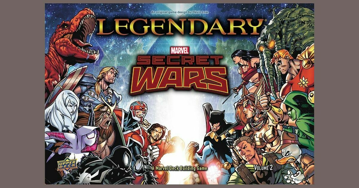 Legendary Secret Wars Volume 2