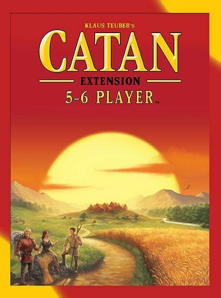 Catan Extension 5/6 Players