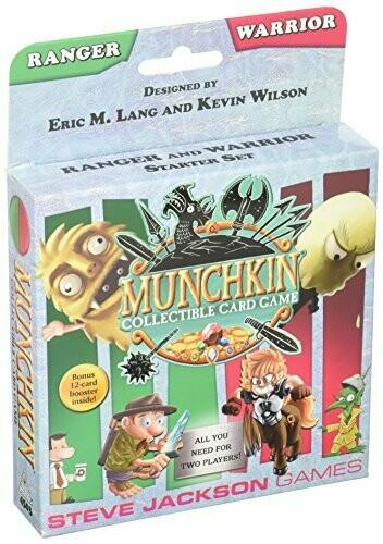 MUNCHKIN CCG DECK WARRIOR/RANGER
