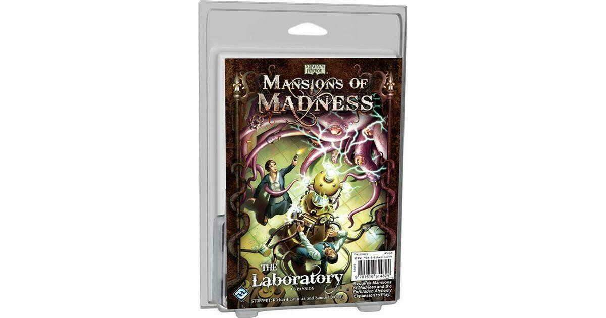 Eldritch Horror Mansions Of Madness The Laboratory